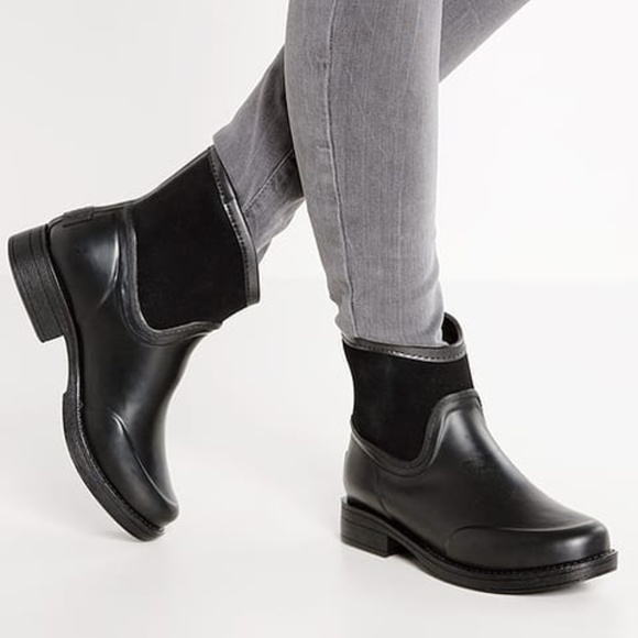71162b10f2d NEW UGG Black Paxton Waterproof Ankle Rain Boots